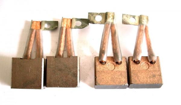 Kohlebürsten GOMES, kompatibel Kohlebürsten Anlasser Bosch, Anlasserkohlen 10x25x23