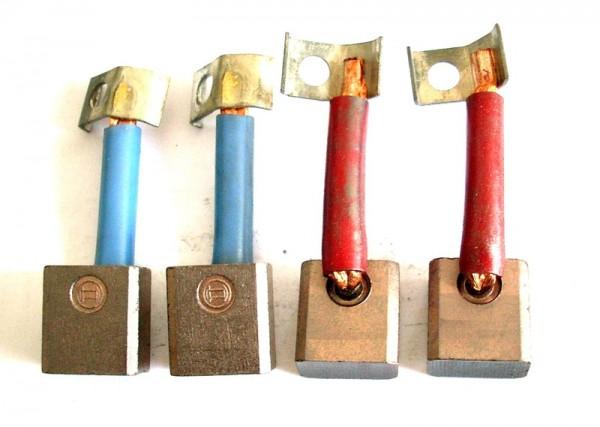 Kohlebürsten GOMES, kompatibel Kohlebürsten Anlasser Bosch, Anlasserkohlen 9x16x17